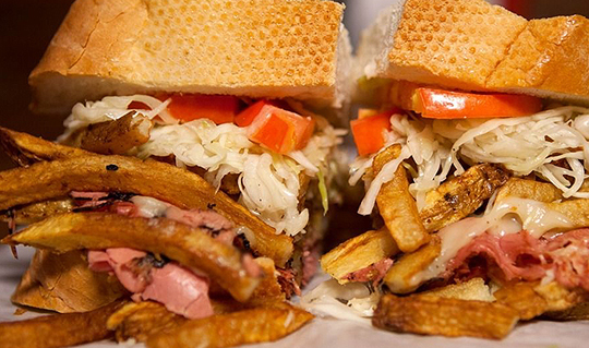 Dining at Primanti Bros.